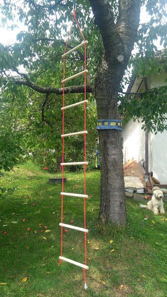 hotový rebrík