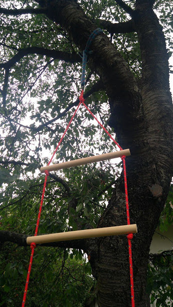 rebrík upevnenie