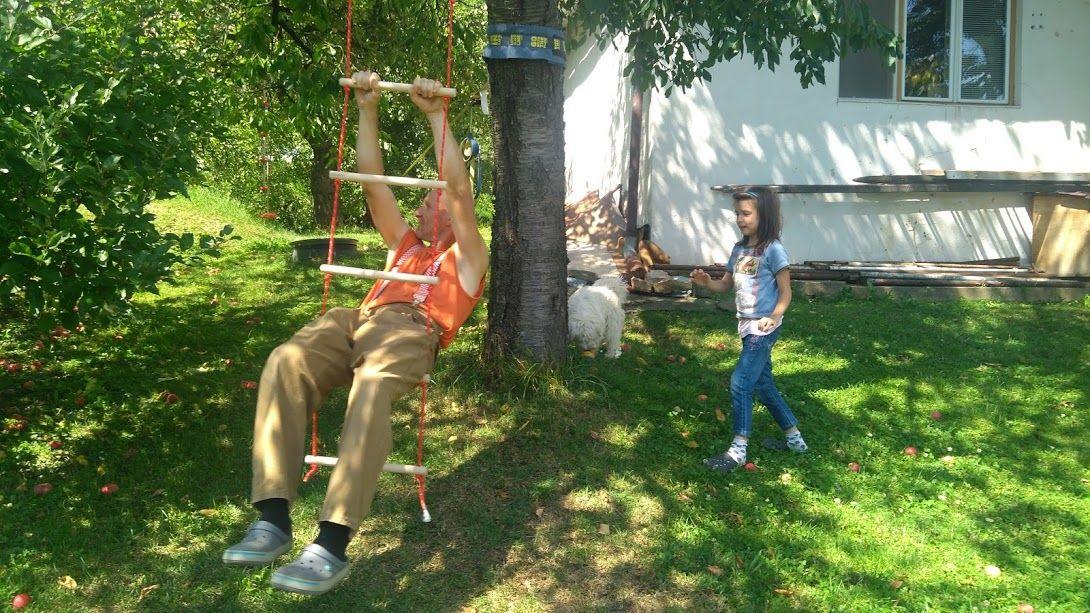 rebrík v akcii